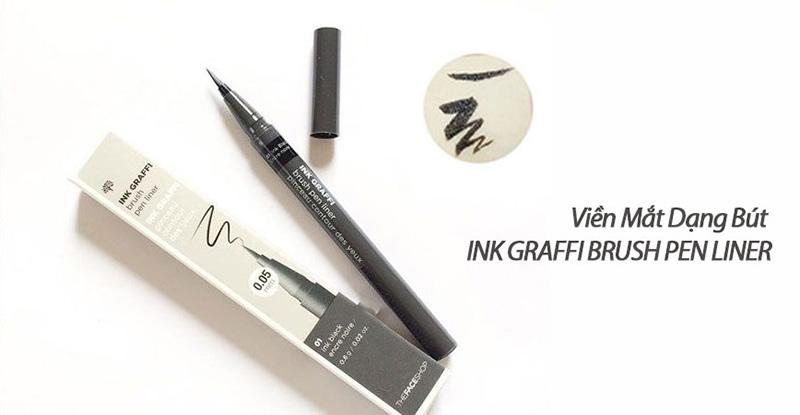 Bút-Lông-Kẻ-Mắt-Không-Trôi-Siêu-Mảnh-The-Face-Shop-Ink-Graffi-Brush-Pen-Liner