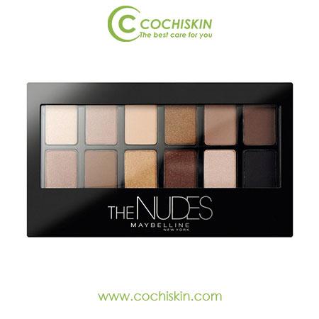 Bảng màu mắt 12 màu tông nuy The Nudes Maybelline