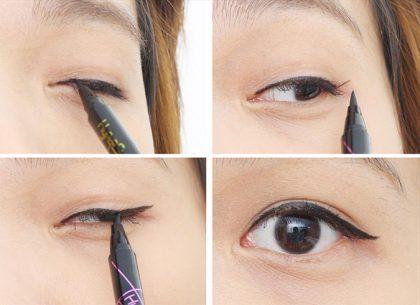 Bút kẻ mắt nước đen Maybelline Hyper Sharp Power Black