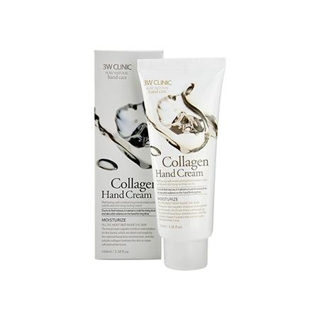 Kem Dưỡng Da Tay 3W Clinic Hand Cream (100ml)