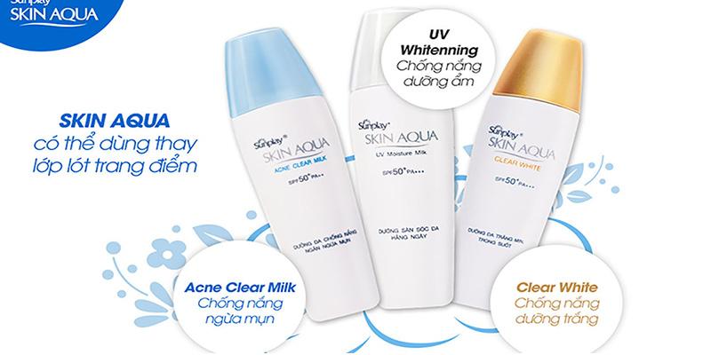 Kem-chống-nắng-Sunplay-Skin-Aqua-UV-Moisture-Milk-SPF-50+-PA-++++-30g