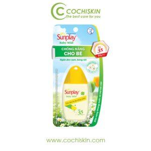 Kem chống nắng cho da nhạy cảm Sunplay Baby Mild 35+