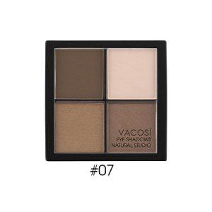 Phấn mắt 4 ô Vacosi Natural Studio Natural Smoke 07