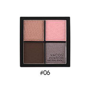 Phấn mắt 4 ô Vacosi Natural Studio Smoky Pink 06