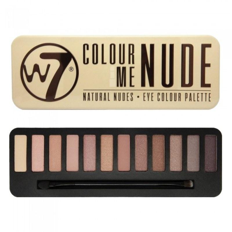 Bảng phấn mắt W7 Colour Me NUDE Natural Nudes Eye Color 12 màu