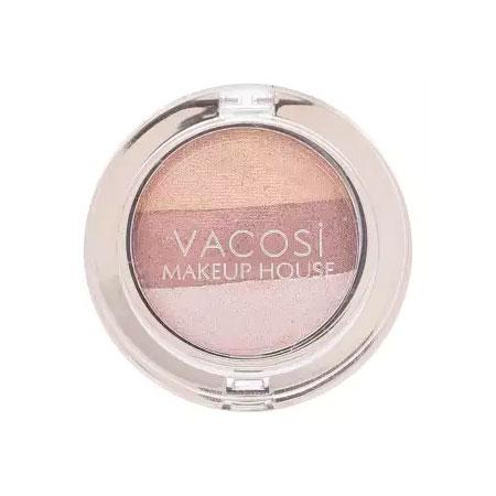Phấn mắt trang điểm Vacosi Eyeshadow Hàn Quốc 3 màu 02