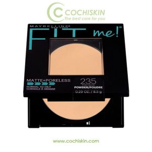 Phấn phủ Maybelline Fit Me Matte Poreless Powder 235 PURE BEIGE