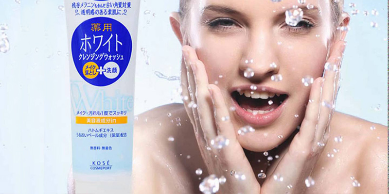 Sữa rửa mặt Kose Collagen Softymo Nhật Bản