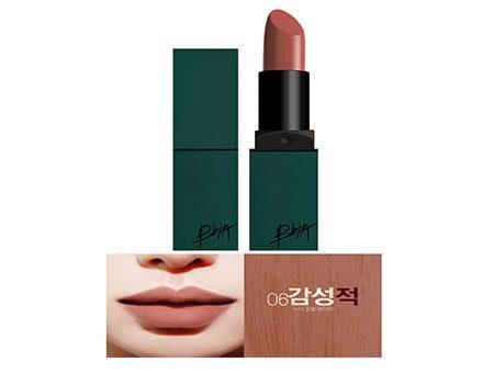 Son BbiA Sensitive Last Lipstick vỏ xanh 06