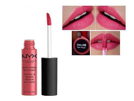 Son Kem Lì NYX Soft Matte Lip Cream San Paulo 8ml