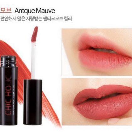 Son Kem Lì Chic Holic Long Lasting Fix Lip Lacquer Original