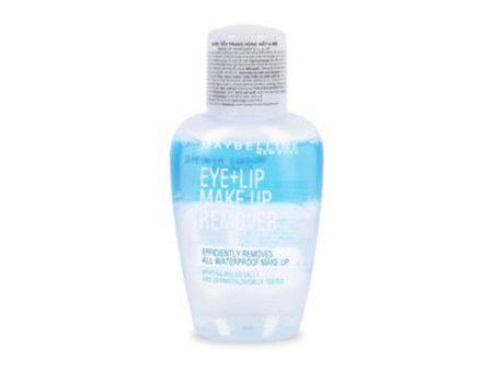 Tẩy trang Maybelline Make Up Remover mắt môi
