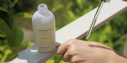 Tinh chất rau má Madagascar trị mụn mờ thâm