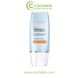 Kem Chống Nắng L'Oreal Paris UV Perfect Aqua Essence SPF50+ 30ml