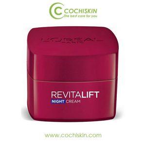 Kem dưỡng da L'oreal Revitalift Anti Wrinkle Night Cream chống nhăn