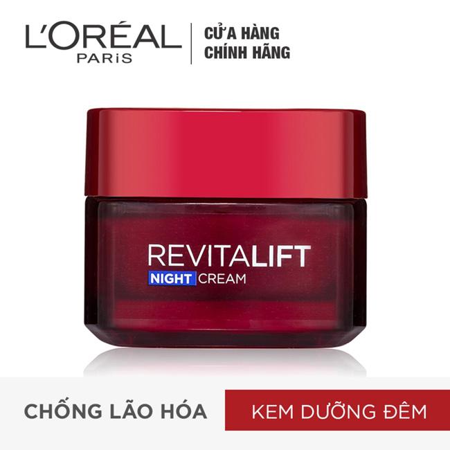 Kem-dưỡng-da-L'oreal-Revitalift-Anti-Wrinkle-Night-Cream-chống-nhăn