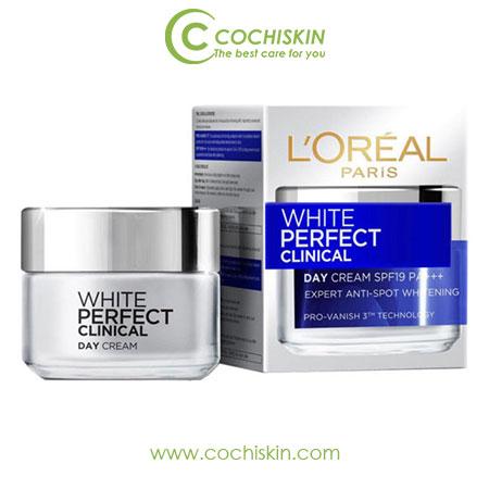 Kem dưỡng da L'oreal Paris White Perfect Clinical 50ml