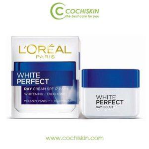 Kem dưỡng da L'oreal White Perfect SPF17 ban ngày