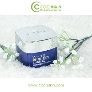 Kem dưỡng da L'oreal White Perfect Clinical Overnight Treatment giảm thâm nám
