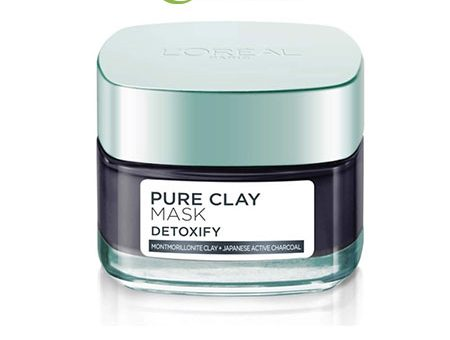 Mặt Nạ Đất Sét thanh lọc da L'Oreal Paris Pure Clay Mask Detoxify (50ml)