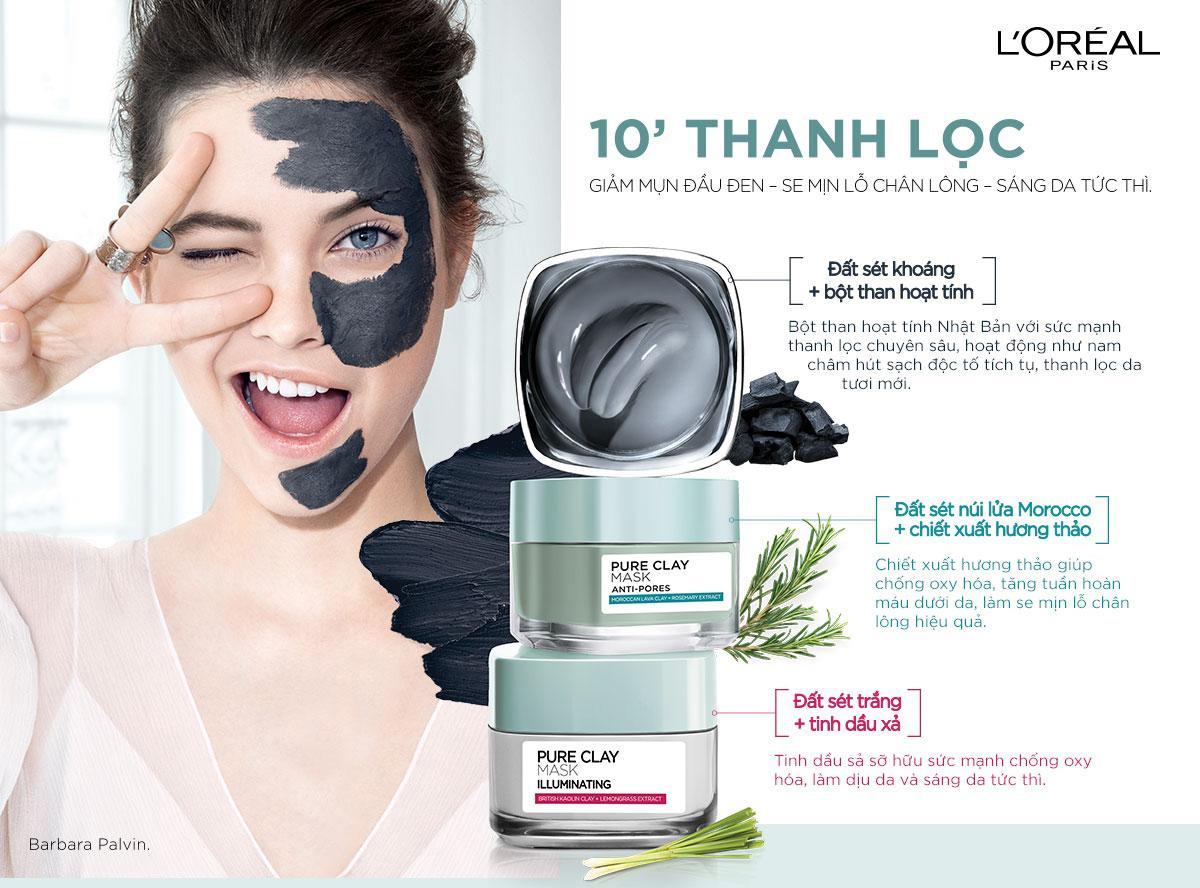 Mặt-nạ-đất-sét-kiềm-dầu-L'oreal-Pure-Clay-Mask-Anti-pores-50ml