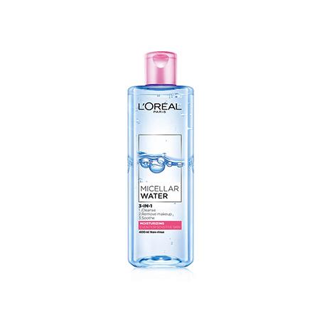 Nước-tẩy-trang-L'oreal-Micellar-Water-Mosturizing-400ml