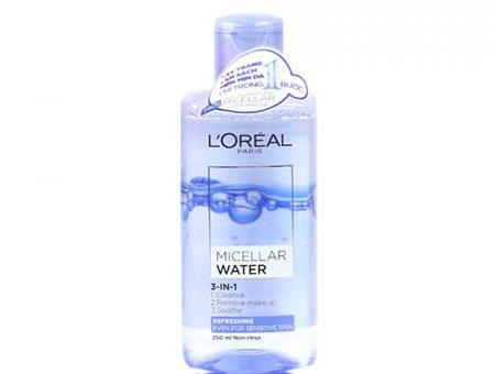 nước tẩy trang L'oreal Micellar Water Refreshing