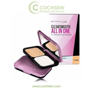 Phấn phủ Maybelline Clearsmooth All in One Two Way Cake Light