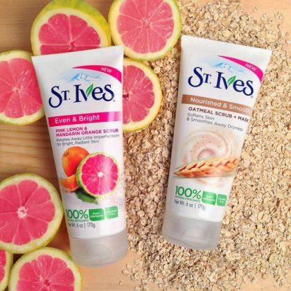 Sữa-rửa-mặt-ST.IVES-Even-and-Bright---Pink-Lemon-Mandarin-Orange