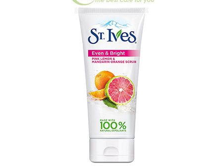 Sữa rửa mặt ST.IVES Even and Bright - Pink Lemon Mandarin Orange