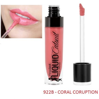 Son kem lì Wet Liquid Catsuit Coral Corruption 922B