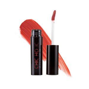 Son kem lì Chic Holic Long Lasting Fix Lip Lacquer Original red