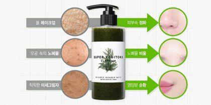 công-dụng-Sữa-rửa-mặt-rau-củ-Wonder-Bath-Super-Vegitoks-Cleanser-300ml