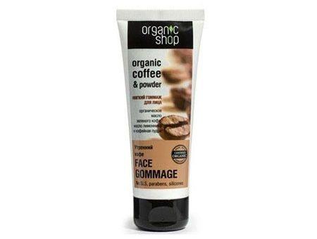 Tẩy da chết mặt Organic Shop Organic Coffee & Powder