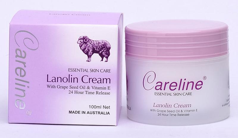 Kem-Dưỡng-Da-Careline-Essential-Skin-Care-Lanolin-Cream-100ml