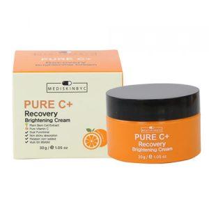Kem dưỡng da MediskinbyC Pure C+ Recovery Brightening Cream