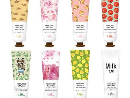 Kem Dưỡng Tay Pretty Skin Perfumed Natural Hand Cream