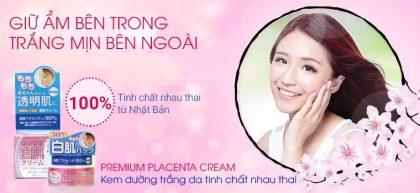 Kem Dưỡng Trắng Da White Lable Premium Placenta Cream 60g
