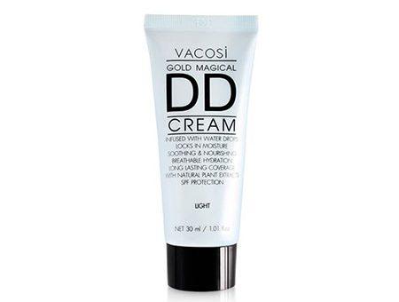 Kem Nền Vacosi Gold Magical DD Daily Defense Cream Light