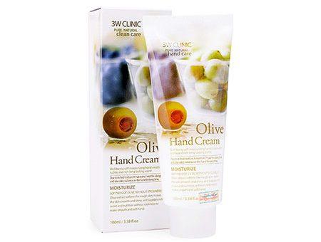 Kem dưỡng da tay 3W Clinic Olive Hand Cream