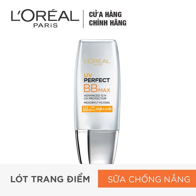 Kem-nền-trang-điểm-chống-nắng-L'oreal-UV-Perfect-BBmax-30ml