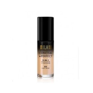 Kem trang điểm Milani Conceal And Perfect 2 In 1 Foundation Concealer