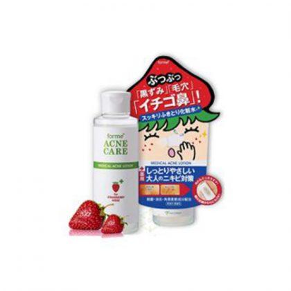 Lotion loại bỏ mụn, se khít lỗ chân lông White Doctors Forme Medical Acne Lotion For Strawbery Nose 150ml