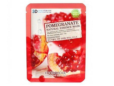 Mặt Nạ 3D Lựu Pomegranate Natural Essence Mask Foodaholic