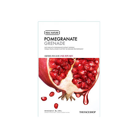 Mặt Nạ The Face Shop Real Nature Mask Sheet Pomegranate