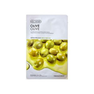 Mặt Nạ Oliu The Face Shop Real Nature Mask Sheet Olive