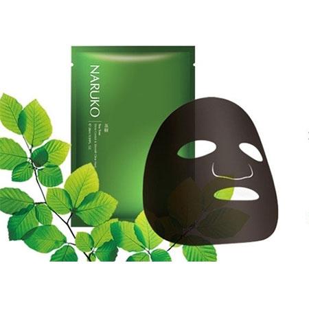 Kết quả hình ảnh cho Naruko Tea Tree Shine Control & Blemish Clear Mask