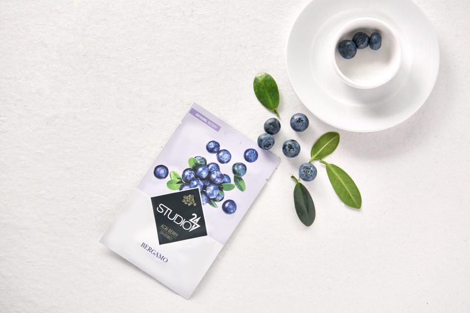Mặt-nạ-Bergamo-Studio-Acai-Berry-Mask-Pack-Hàn-Quốc