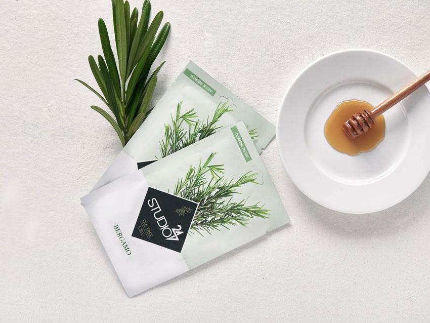 Mặt-nạ-Bergamo-Studio-Tea-Trea-Mask-Pack-Hàn-Quốc