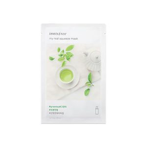 Mặt nạ Innisfree My Real Squeeze Mask Green Tea Hàn Quốc
